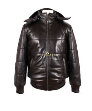 Zip Leather Winter Coats & Jackets for Men