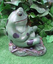 Classic Frog Toad Grass Base Latex Fiberglass Production Mold Concrete Plaster