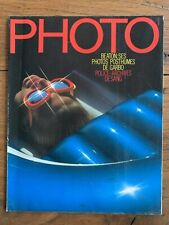 PHOTO n° 149 Fev 1980 - Greta GARBO by Cecil BEATON Guy BOURDIN NAJMAN TOURLIERE