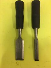 """Set Of Two Toolbasix Woodworking Chisel Set 1"""" / 1/2"""""""