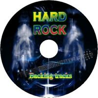 HARD ROCK GUITAR BACKING TRACKS CD BEST GREATEST HITS MUSIC PLAY ALONG MP3