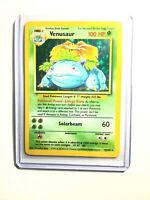 VENUSAUR - 15/102 - Base Set - Holo - Pokemon Card - EXC / NEAR MINT