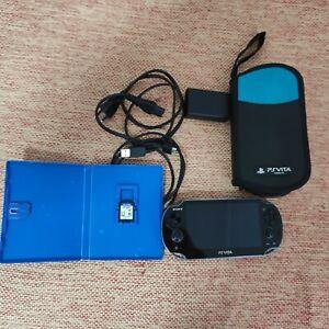 Sony playstation vita 3g psvita +scheda 4 giga +custodia+gioco
