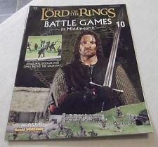 Señor De Los Anillos Juegos de batalla en la emisión 10 de la revista de tierra media
