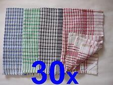 30x Geschirrtuch Geschirrtücher Tücher Küche Küchentuch POSTEN Handtuch NEU Tuch