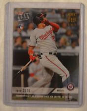 15b8ea4ea 2018 Topps Now Moment of the Week Gold Winner #11 Juan Soto MOW-11W