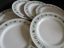 Royal Doulton TAPESTRY English Fine China - 8 inch plates x 6