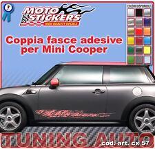 Mini Cooper - Fasce adesive a 1 colore - cod. art. cx57