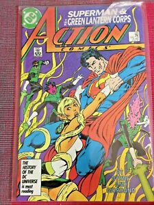 "Action Comics ""Superman Vs.Green Lantern"" DC #589 (June 1987)"