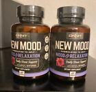 Onnit New Mood - Daily Stress, New Mood, Sleep & Serotonin Supplement - 120 caps