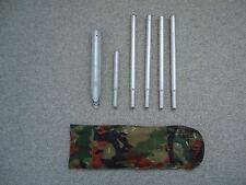 Schweizer Armee Zeltheringe mit Tasche  Schweizer Militär Zelteringe mit Tasche