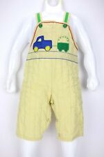 Vtg Baby Coveralls Cee Tee Playwear Infant Clothes Bib Overalls 9 Mo. Boys Truck