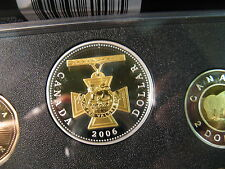 Canada 2006 Proof Set 150th Anniversary Of Victoria Cross Rare Mint Set.