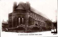 Leeds. St Aidan's Church, Roundhay Road # 352 by H.Burniston, Leeds.