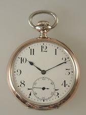 Vintage Silver ZENITH pocket watch c1910