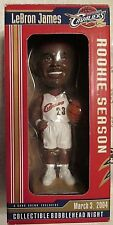 LEBRON JAMES Rookie Bobblehead March 3, 2004 RARE EMPLOYEE ISSUE LTD PRODUCTION