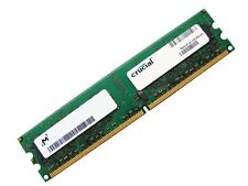 Crucial CT25664AA667 PC2-5300U-555 2GB 2Rx8 DDR2 RAM Memory, 667MHz CL5