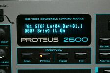 Emu Proteus 2500 - PX-7 MP-7 XL-7 Command Station VFD + SSD upgrades !