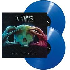 "In Flames - Battles (NEW 2 x 12"" BLUE VINYL LP)"