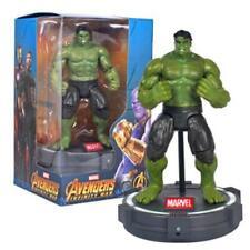 "Avengers Infinity War HULK Deluxe 8"" Action Figure with LED Light Base"
