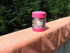 Hello Kitty Stainless Thermos Food Bottle 10 Oz. 2007