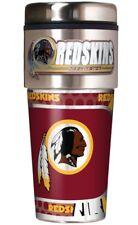 NFL Washington Redskins Metallic Travel Tumbler, Stainless Steel(16-Ounce)