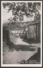 Postcard Hawkshead Cumbria the Ann Tyson's Cottage in Vicarage Lane RP