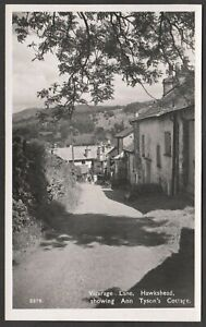 Postcard Hawkshead Cumbria the Ann Tyson's Cottage in Vicarage Lane RP