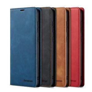Samsung Galaxy A71 A51 A20e A50 A40 A70 S20 Case Leather Wallet Card Flip Cover