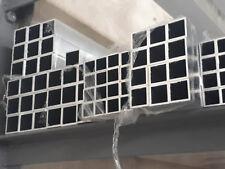 Aluminium  Alu Quadrat-Rohr Hohlpofil Aluprofil  Vierkantrohr2m