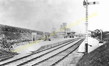 Shepshed Railway Station Photo. Loughborough - Coalville. L&NWR. (2)