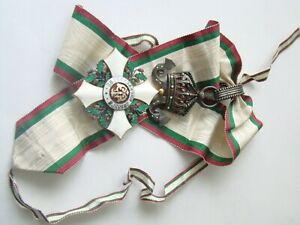 Bulgaria Royal Order Civil Merit 3rd class COMMANDER CROSS !