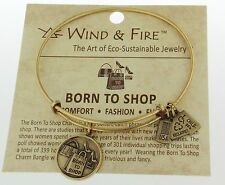 Wind and Fire Born To Shop Bracelet Russian Gold Expandable Adjustable