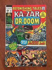 Marvel ASTONISHING TALES #3 (1970) KA-ZAR & DOCTOR DOOM    GREAT!