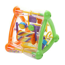 Teach Time Triangle Kids Baby Toy Multi Activity 9m