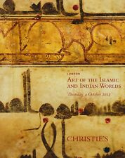 Indian & Islámica funciona o arte cerámica Textiles Vidrio Pinturas Catálogo de Subasta