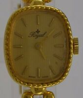 Vintage Damenuhr ROYAL  / Handaufzug  Swiss made