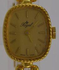 ROYAL  / Handaufzug / vergoldet / Swiss made