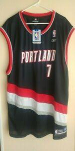 VTG Reebok Brandon Roy #7 Portland Trailblazers NBA Basketball Jersey Size 2XL