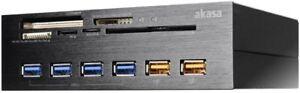 Akasa Interconnexion Ex AK-HC-07BK USB 3.0 Carte Lecteur