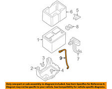 NISSAN OEM Battery-Negative Cable 240807S200
