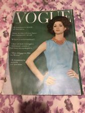 Vogue Magazine June 1960 Royal Wedding Guggenheim Thunderbird Ad Chevrolet Car