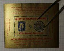 Society of Philatelic Americans Convention 1941 Philadephia Souvenir Ad Label