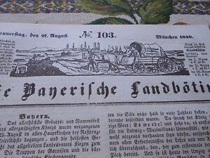1840 Landbötin 103 / Munich Universidad Aschaffenburg Pecas