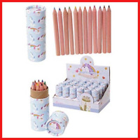 Unicorn Pot With Colouring Pencils
