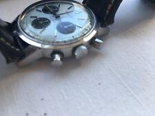 BREITLING TOP TIME 801 watch uhr Steel in rare Panda Optik