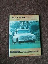 Saab 95/96 2-stroke Sport & Monte Carlo Intereurope Workshop Manual  RARE 171