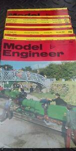 13 x MODEL ENGINEER MAGAZINES 1977