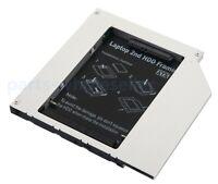 Universel 9.5mm CD DVD-ROM Optique Bay IDE PATA POUR SATA 2nd Caddy disque dur