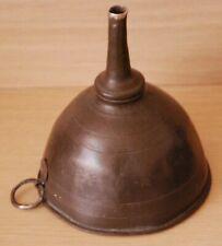 More details for a kitchen/garden funnel vintage/antique in white metal